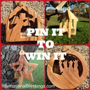 Pin It to Win It Ornaments