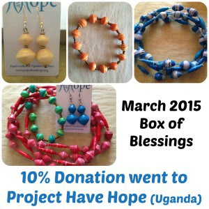 Box of Blessings: March 2015