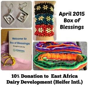 Box of Blessings: April 2015