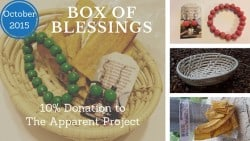 Box of Blessings: October 2015