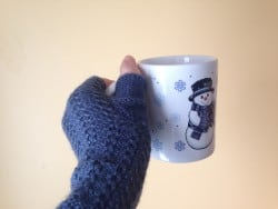 Alpaca wrist warmer