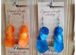 Fair Trade Fish scale Earrings