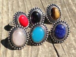 fair trade stone ring