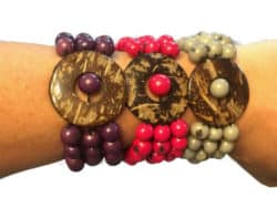 ecofriendly jungle bracelet