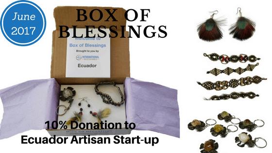 Fair trade subscription box